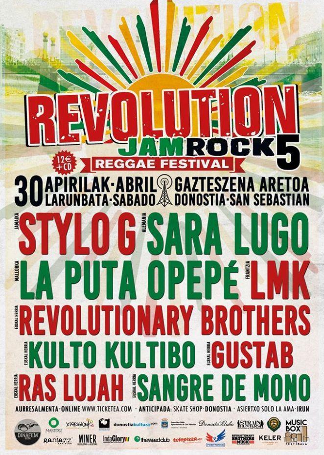 Revolution Jam Rock!
